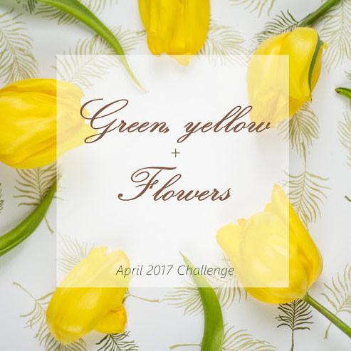 """Завдання квітня """"Зелений і жовтий кольори + квіти"""" до 30/04"""