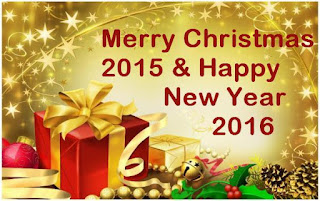 Animated Merry Christmas 2015 and New Year 2016 HD Greetings Cards Free Download
