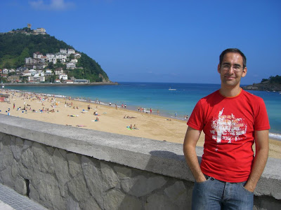 Ondarreta beach in San Sebastian