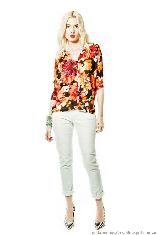 Janet Wise primavera verano 2014. Moda 2014.