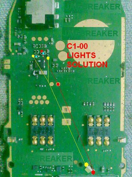 Nokia c1-00 light solution 100% tested