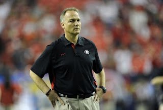 A house divided: Georgia HC Mark Richt's cousins are supporters of Dawgs' Capital One opponent Nebraska.