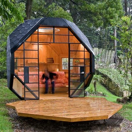 Unique small house house affair for Unusual small house plans