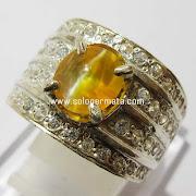 Batu Permata Opal Cat Eye - kode 17L03