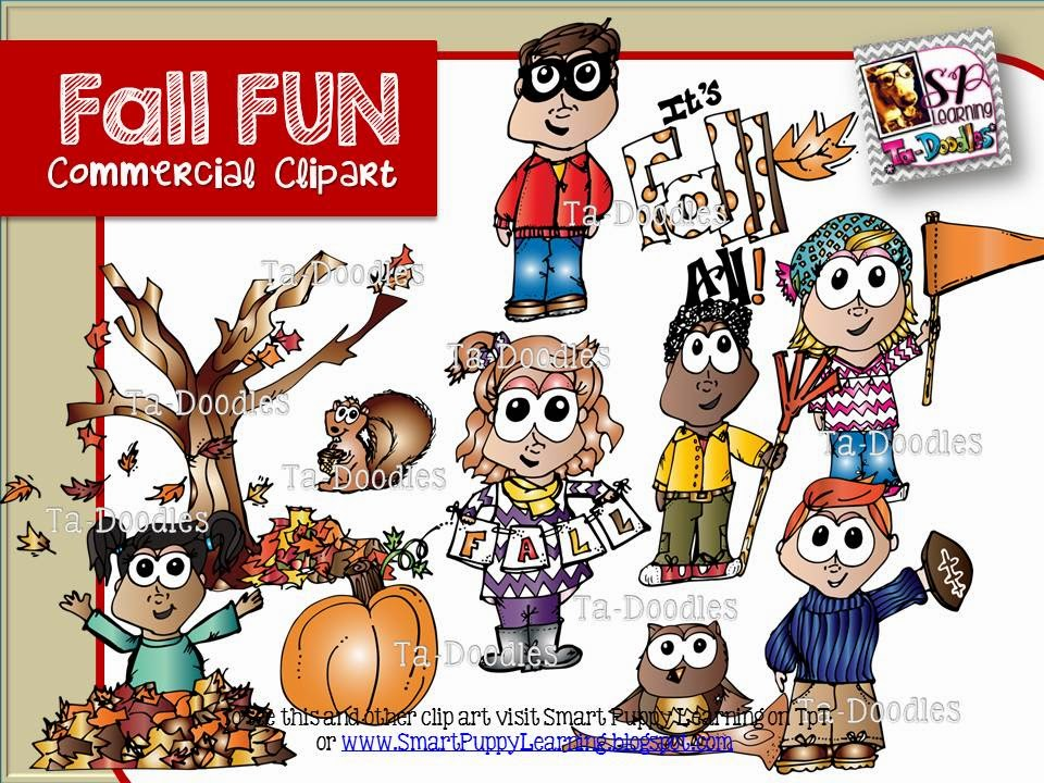 http://www.teacherspayteachers.com/Product/Fall-Kids-Clip-Art-1398477