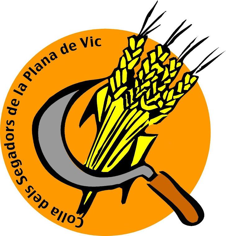 Logotip de l'Associació Colla dels Segadors de la Plana de Vic