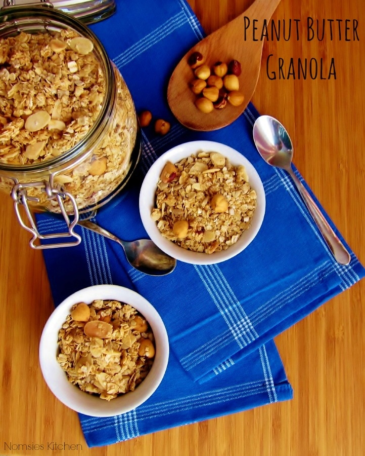 Peanut Butter Granola Recipe from Nomsies Kitchen