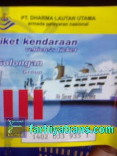 tiket kirim kendaraan dengan kapal
