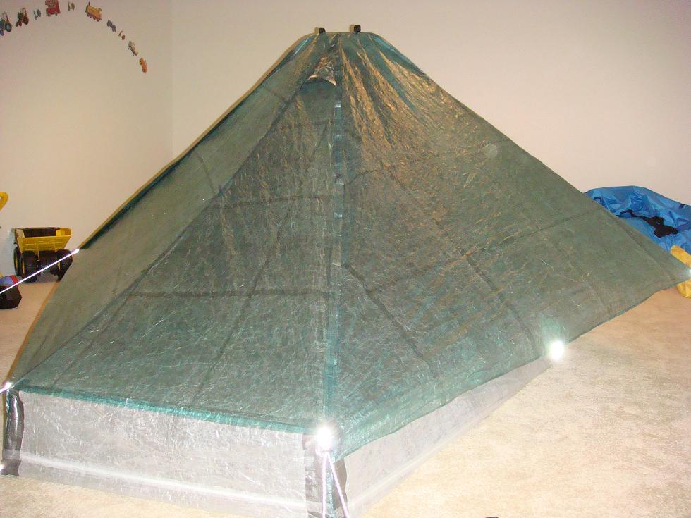 New Cuben Shelter & LIGHT u0026 ULTRALIGHT BACKPACKING: New Cuben Shelter