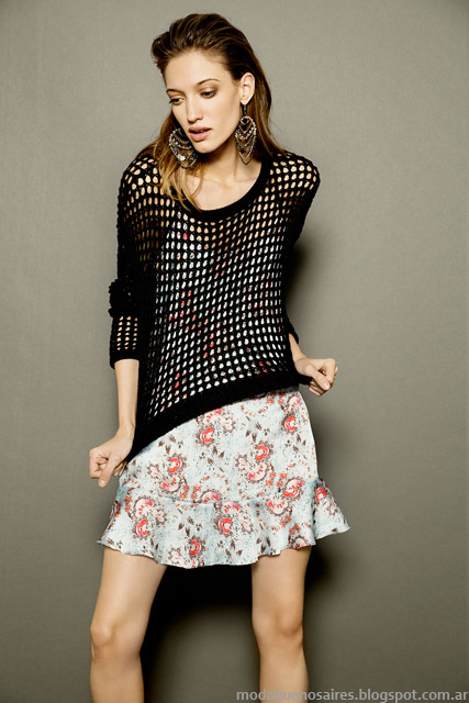 Vestidos cortos looks de moda 2015 Tucci.