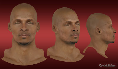 NBA 2K13 Ray Allen Cyberface Mod