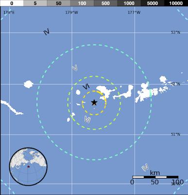 SISMO 6,4 GRADOS EN ISLAS ALEUTIANAS, 27 DE SEPTIEMBRE 2012