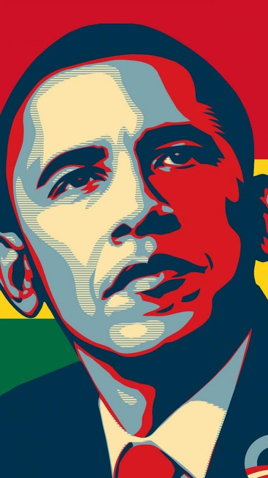 Barack Obama  Galaxy Note HD Wallpaper