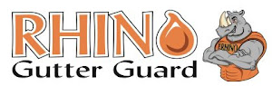 Authorized dealer of Rhino Gutter Guards