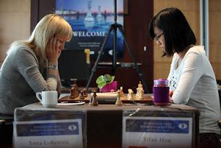 Championnat du monde : Hou Yifan vs Ushenina - Photo © Anastasiya Karlovich
