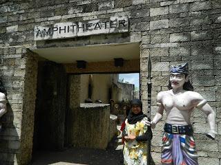 Amphitheatre at Garuda Wisnu Kencana ( GWK ) Cultural Park for BALI HOLIDAYS