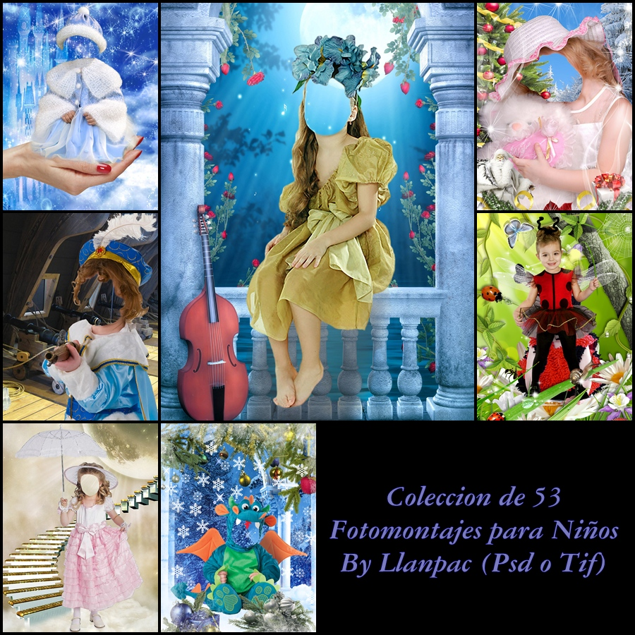Related For Recursos Photoshop Llanpac Coleccion Fondos Infantiles