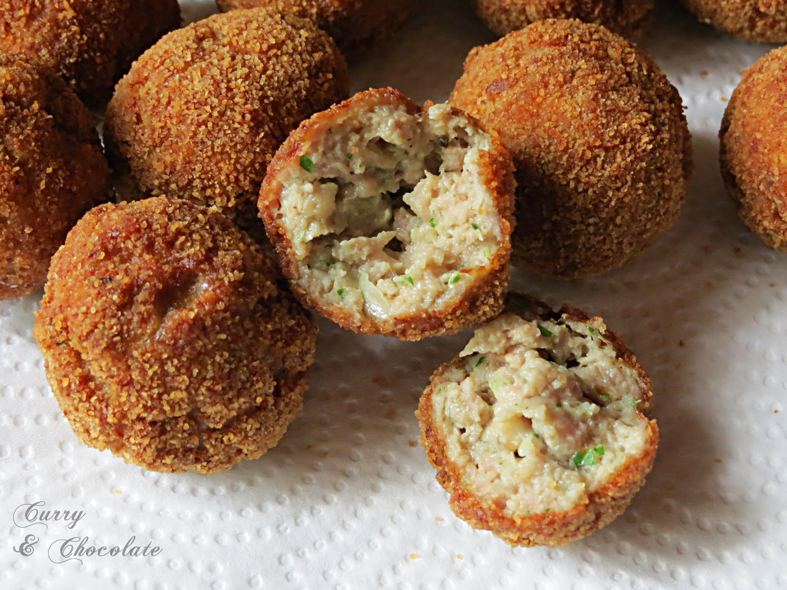 Albóndigas de cerdo jugosas, receta básica - Pork meatballs, basic recipe