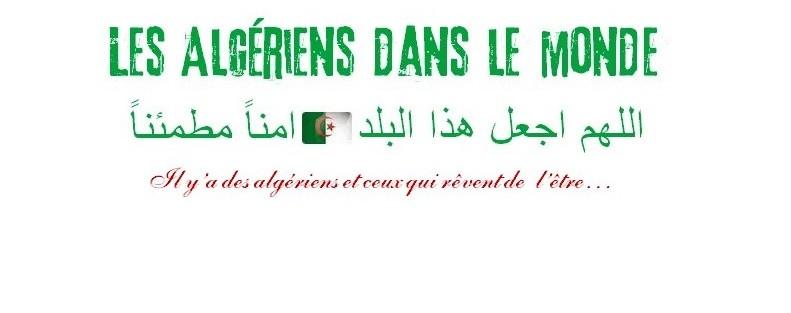 Les Algériens dans le monde