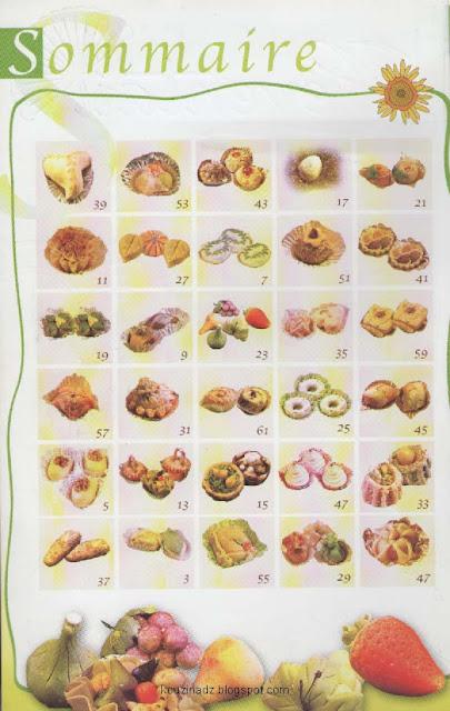 la cuisine alg 233 rienne l eventail des gateaux traditionnels