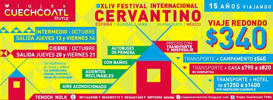 44 FESTIVAL INTERNACIONAL CERVANTINO | 2016