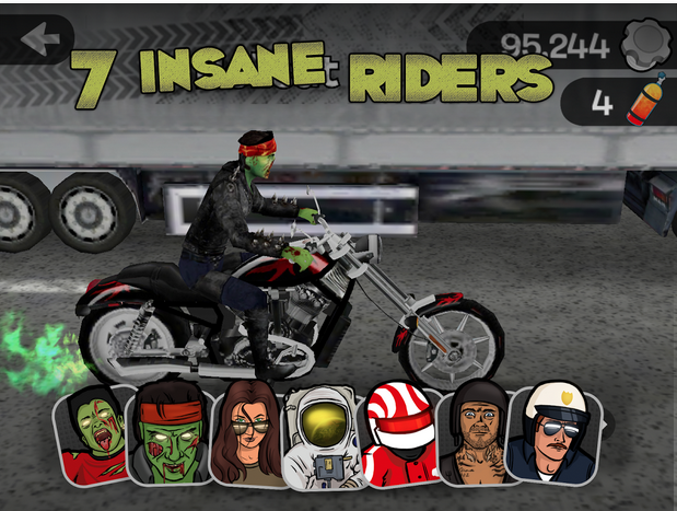 highway rider screen shots in hd apk