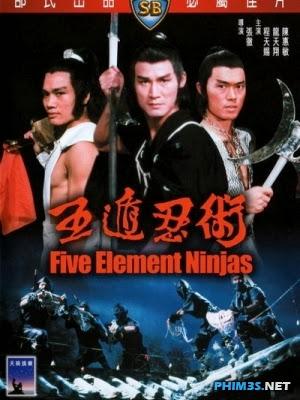 Ngũ Độn Nhẫn Thuật Five Element Ninjas