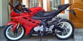 modifikasi motor yamaha yzf-r15 red