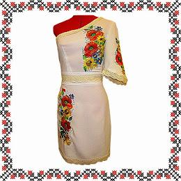 Жіноча вишивана сукня