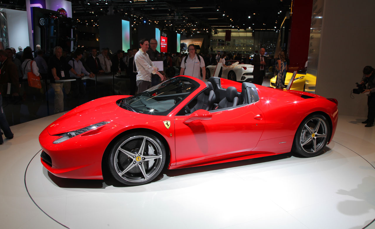 Cars part review 2013 ferrari 458 italia specifications 458 italia spider auto show 2013 ferrari 458 spider ferrari 2011 frankfurt vanachro Choice Image