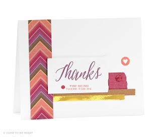CTMH Sangria Thank You Cards
