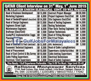 Electrical qatar electrical jobs images of qatar electrical jobs fandeluxe Gallery