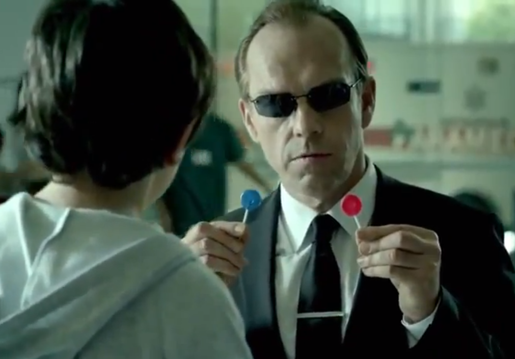 Agent Smith Advocating 'Good' Machines