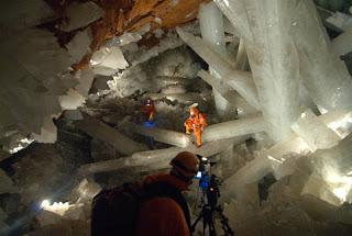 La Caverne aux Cristaux Géants, Mine de Naica