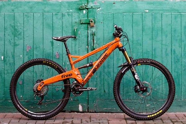 Hi Five: Orange Bikes 2015 Five Launches