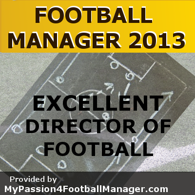 FM 2013 Director of football