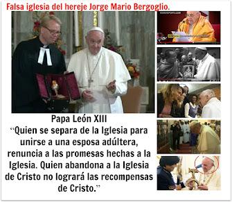 La Iglesia católica enseña que la elevación de un hereje al papado es invalida y nula.