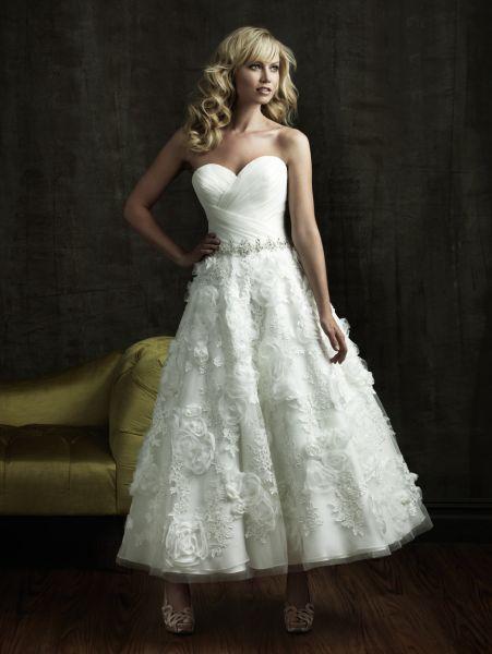 vestidos de novia 2011 cortos y originales