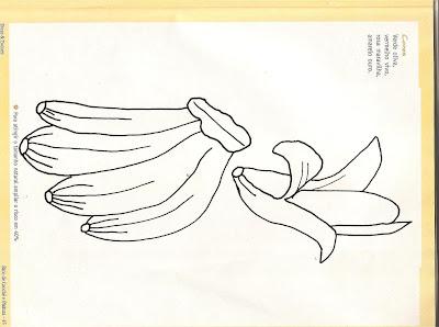 خطر لوحة على القماش، وحفنة من الموز