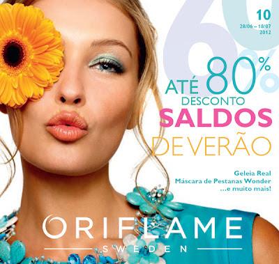 Catálogo 10 de 2012 da Oriflame