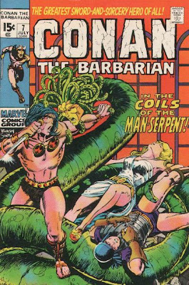 Conan the Barbarian #7, Barry Smith