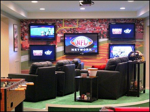 Magnificent NFL Man Cave Ideas 504 x 376 · 53 kB · jpeg