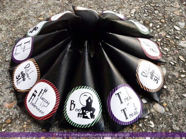 Trick or Treat Candy Tubes | The Purple Pumpkin Blog