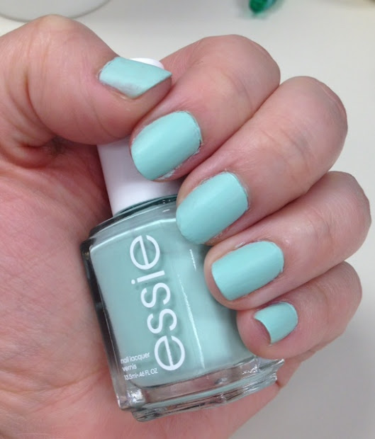 essie mint candy apple and orly