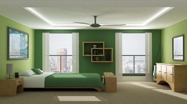 Interiorismo bilbao itxaso zarandona combinacion de - Colores de pared para habitacion ...