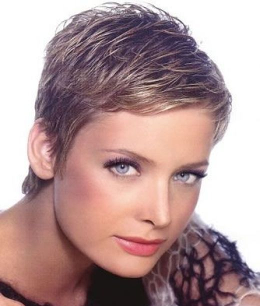 Short Hairstyles For Women - When layers are added to the top and