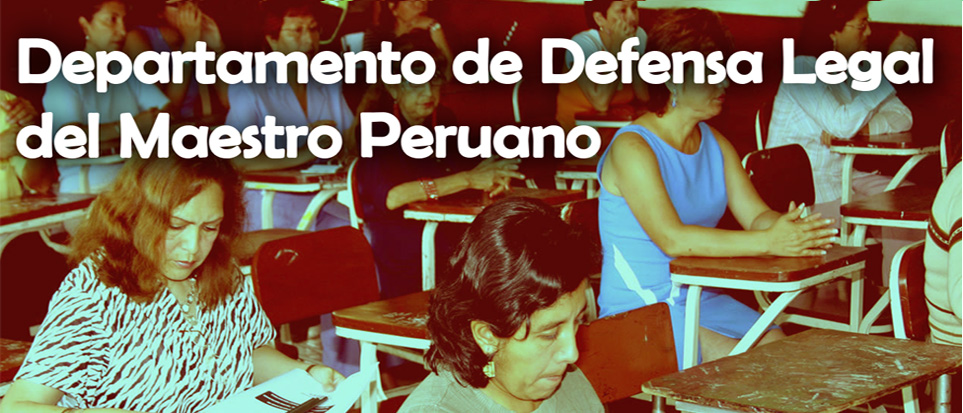 Departamento de Defensa Legal del Maestro Peruano