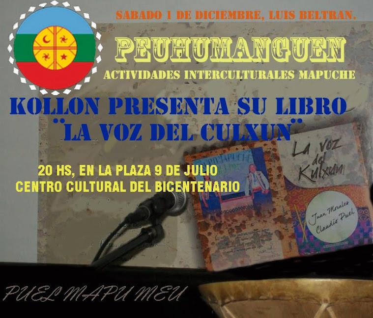 Presentacion del libro de grupo kollon.