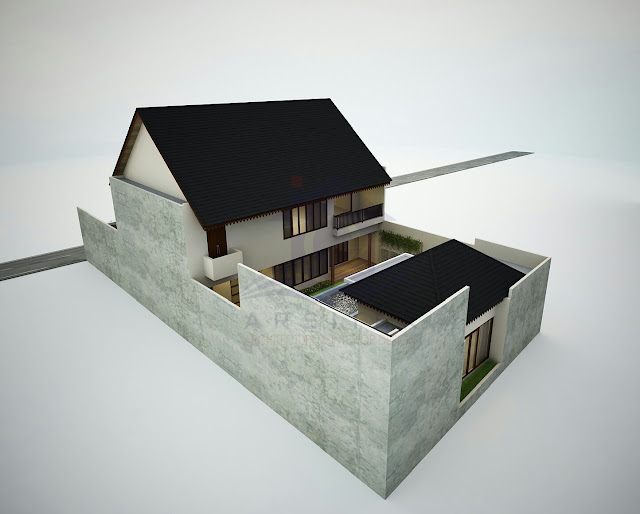 Desain Eksterior Private House Jogja
