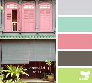 paleta de cores decoração casa